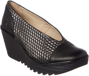 Fly London Yena Leather Wedge