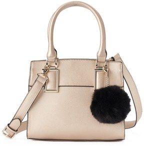 Apt. 9 Sugar Pom-Pom Mini Satchel