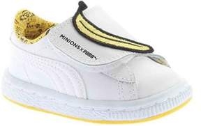 Puma Unisex Infant Minions Basket Wrap Statement Sneaker.
