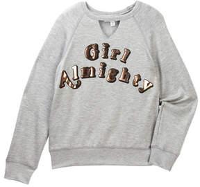 Ten Sixty Sherman Girl Almighty V-Cutout Sweatshirt (Big Girls)