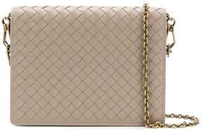 Bottega Veneta woven chain wallet