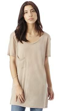 Alternative Apparel Sweet Cotton Modal Pocket Crew T-Shirt