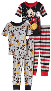 Disney Disney's Mickey Mouse Toddler Boy Striped Tops & Pants Pajama Set
