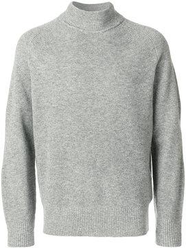 Sacai fine knit turtle knit sweater