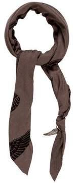 Donni Charm Print Knit Scarf