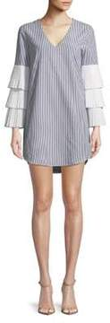 WAYF Stripe Shift Dress