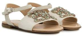 Ermanno Scervino embellished open toe sandals