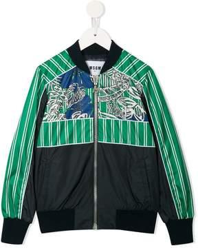 MSGM patterned bomber jacket
