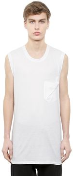 Alexandre Plokhov Sleeveless Cotton & Modal Jersey T-Shirt