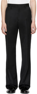 Hope Black Wide-Leg Trousers