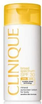 Clinique Broad Spectrum SPF 30 Mineral Sunscreen Lotion for Body - Sensitive Skin Formula/4.2 oz.