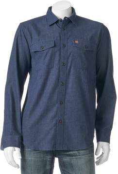 Coleman Men's Patterned Flannel Button-Down Shirt