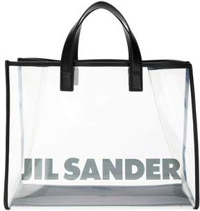 Jil Sander transparent tote bag
