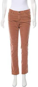 Adriano Goldschmied Mid-Rise Corduroy Pants