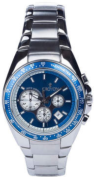 Croton N/A Mens Silver Tone Bracelet Watch-Ca301298ssiv