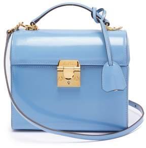 Mark Cross Sara Leather Bag - Womens - Light Blue