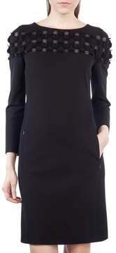 Akris Punto Cutout Dot Shift Dress