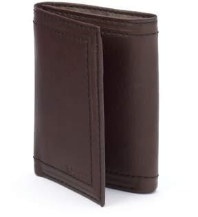 Levi's Levis Brown Leather Trifold Wallet - Men