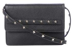 RED Valentino Leather Star Studded Crossbody Bag