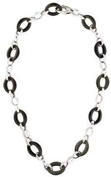Chimento Obsidian Legami Di Cuore Link Necklace w/ Tags