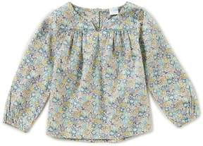 Edgehill Collection Made With Liberty Fabrics Little Girls 2T-6X Long-Sleeve Floral-Print Top