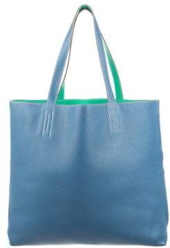 Hermes Double Sens 36 Tote - BLUE - STYLE