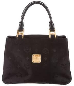 MCM Visetos Handle Bag