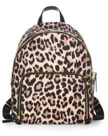 Kate Spade Watson Lane Leopard Hartley Backpack - MULTI - STYLE