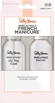 Sally Hansen Hard as Nails French Manicure in Sheerly Opal
