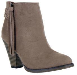 Mia Finnegan Suede Tassel Ankle Boots