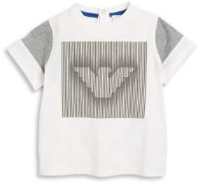 Armani Junior Infant Boy's Cotton T-Shirt