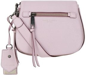 Marc Jacobs Small Recruit Saddle Cross Body Bag - PURPLE - STYLE