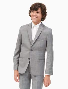 Calvin Klein boys sharkskin jacket