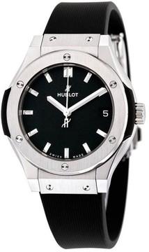 Hublot 581.nx.1171.rx Classic Fusion Quartz Titanium 33mm Womens Watch