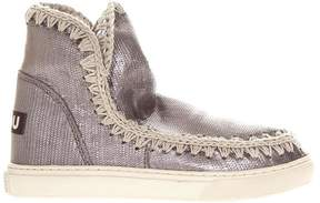 Mou Eskimo Summer Leather Sneakers