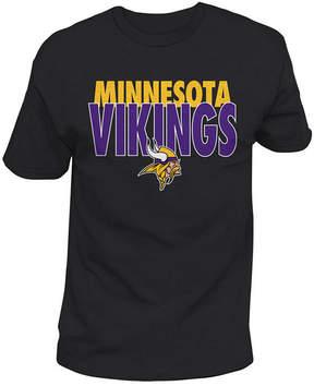 Authentic Nfl Apparel Men's Minnesota Vikings Stunt Blitz T-Shirt