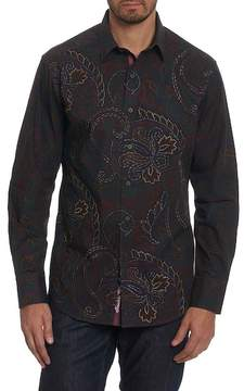 Robert Graham Carlyle Embroidered Long Sleeve Classic Fit Shirt