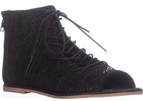 Kelsi Dagger Brooklyn Hendrix Gladiator Sandals, Black.