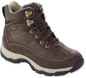 L.L. Bean Women's Snow Sneakers with Arctic Grip, Mid Lace-Up