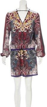 Clover Canyon Digital Print Mini Dress