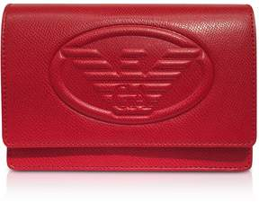 Emporio Armani Embossed Logo Crossbody Bag