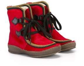 Pépé pony fur boots