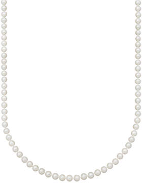 Belle de Mer Pearl Necklace, 18 14k Gold Aa Akoya Cultured Pearl Strand (6-1/2-7mm)