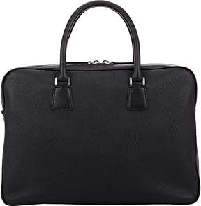 Barneys New York MEN'S TOP-ZIP BRIEFCASE
