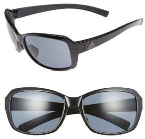 adidas Women's Baboa 58Mm Sunglasses - Shiny Black/ Grey