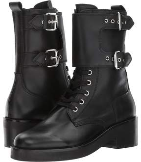 The Kooples Leather Boots with Strap Women's Boots