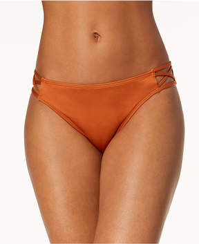 California Waves Strappy Bikini Bottoms, Created for Macy's Women's Swimsuit