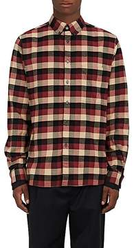 Public School Men's Checked Cotton Flannel Shirt