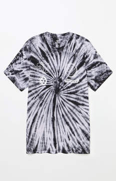 Converse Tie-Dye Multi Graphic T-Shirt