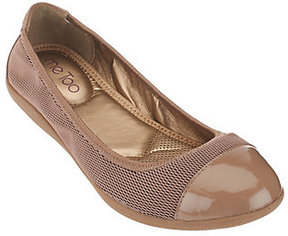 Me Too As Is Mesh Ballet Flats - Harbor